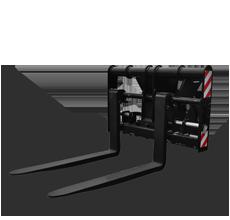 Nosač vilica sa vilicama nosivosti 4,5 tona